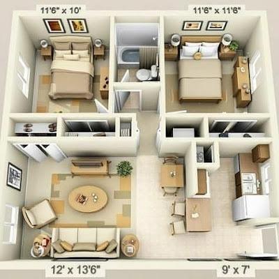 desain rumah unik kreatif