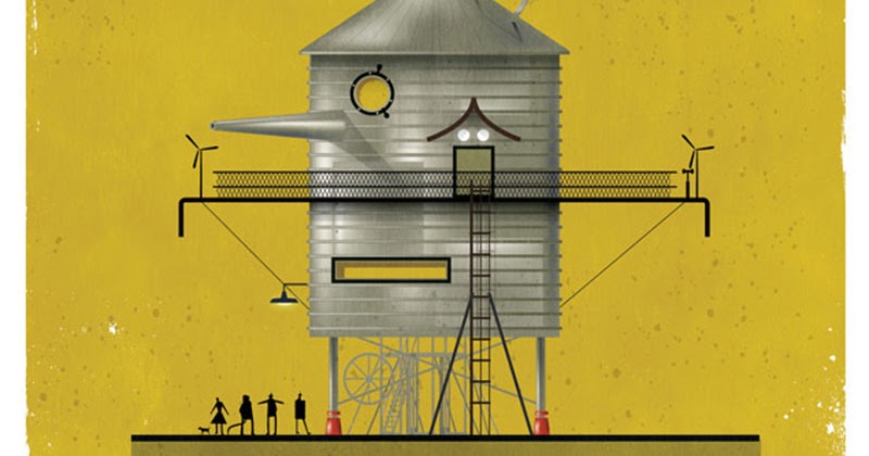 Architale illustrations by federico babina
