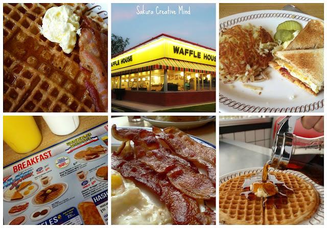 waffle house sakura creative mind