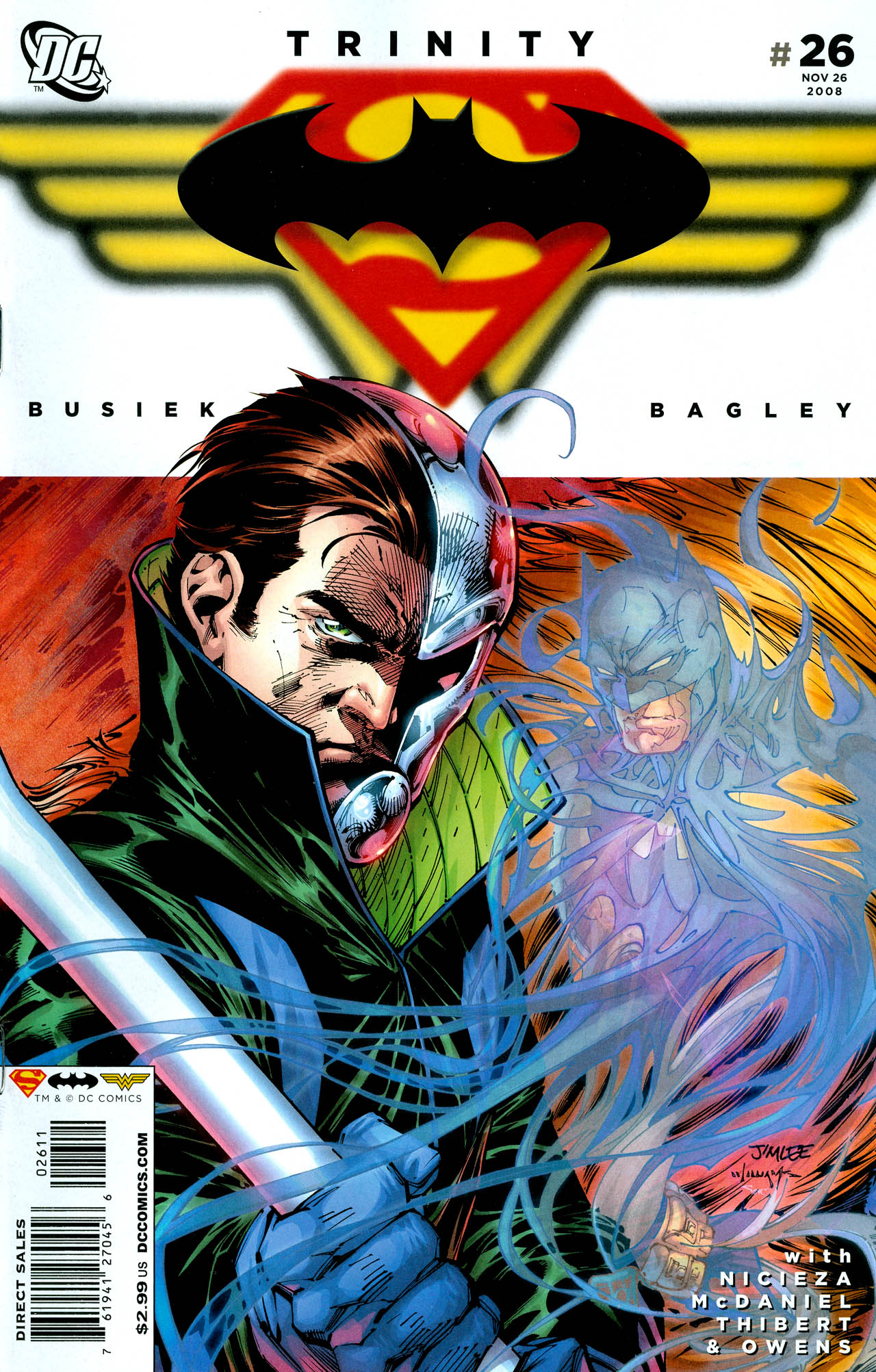 Read online Trinity (2008) comic -  Issue #26 - 1