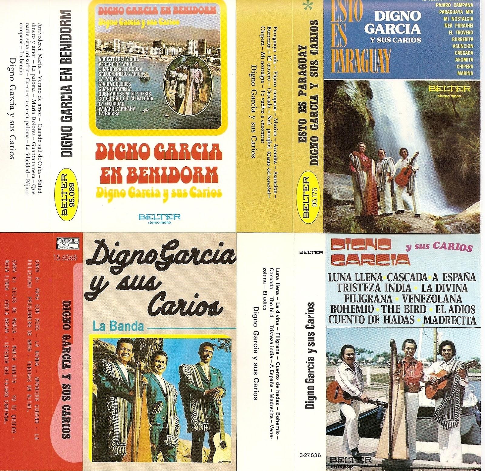 Digno Garcia Y Sus Carios - Spanish Soul