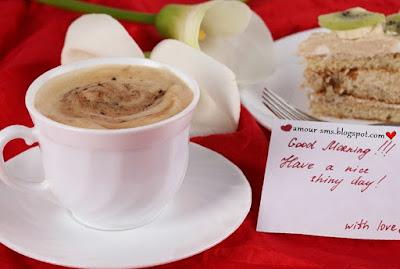 Message d'amour tendre le matin pour dire bonjour