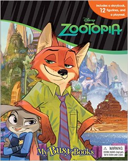 Merch Review- My Busy Books : Zootopia edition
