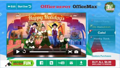 ElfYourself by Office Depot APK4