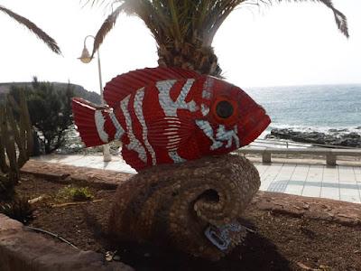 Pesce scultura