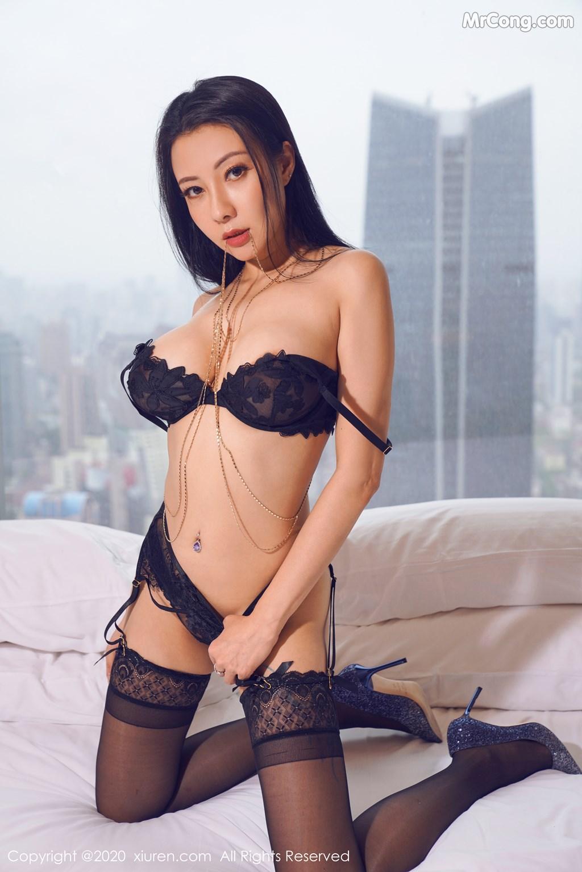 Image XIUREN-No.2142-Victoria-Guo-Er-MrCong.com-001 in post XIUREN No.2142: Victoria (果儿) (59 ảnh)