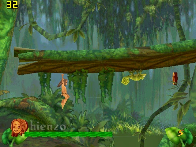 Disney's Tarzan PC Gameplay