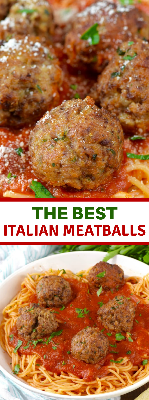 The BEST Italian Meatballs #Dinner #GrandmotherRecipe