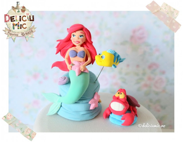 figurine pentru tort ariel