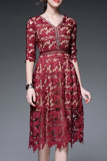 http://www.rosegal.com/dress/v-neck-solid-color-hollow-out-dress-567072.html?lkid=186217?lkid=186217