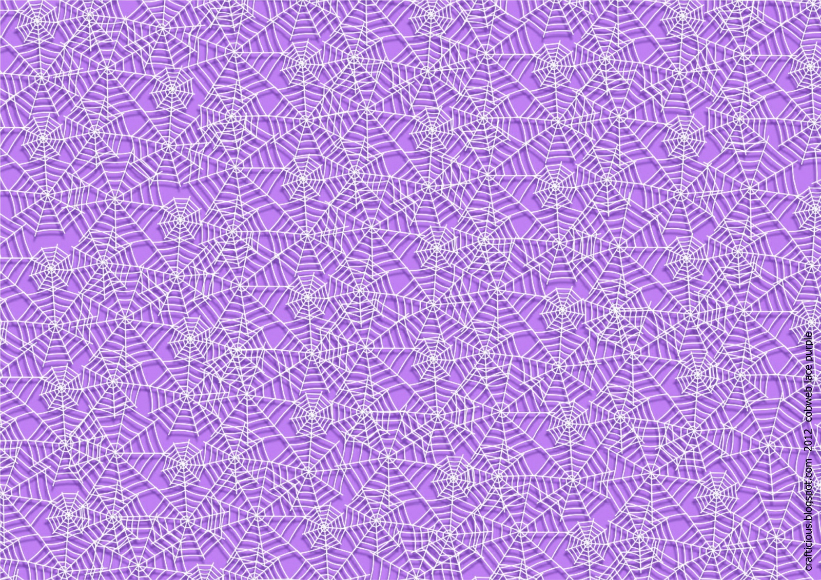 Lilac Lace Craft Paper