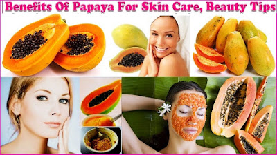 Papaya Fruit benefits for skin