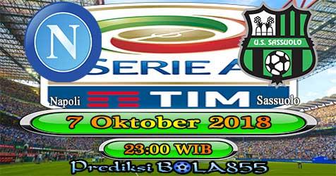 Prediksi Bola855 Napoli vs Sassuolo 7 Oktober 2018