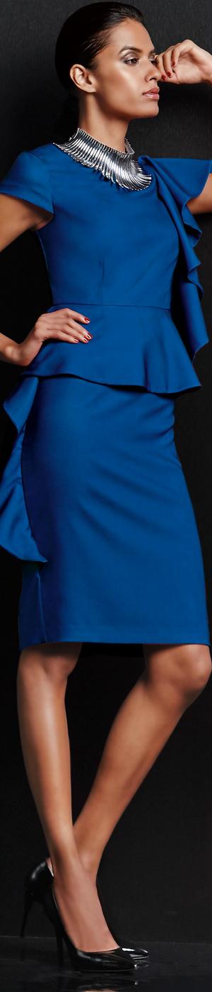 Madeleine Blue Dress