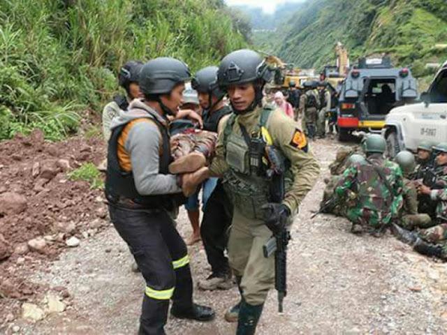 Kesaksian Korban Selamat: Pos TNI di Distrik Mbua Satgas 755/Yalet Dihancurkan Teroris OPM