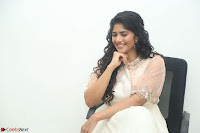 Megha Akash in beautiful Cream Transparent Anarkali Dress at Pre release function of Movie LIE ~ Celebrities Galleries 012.JPG