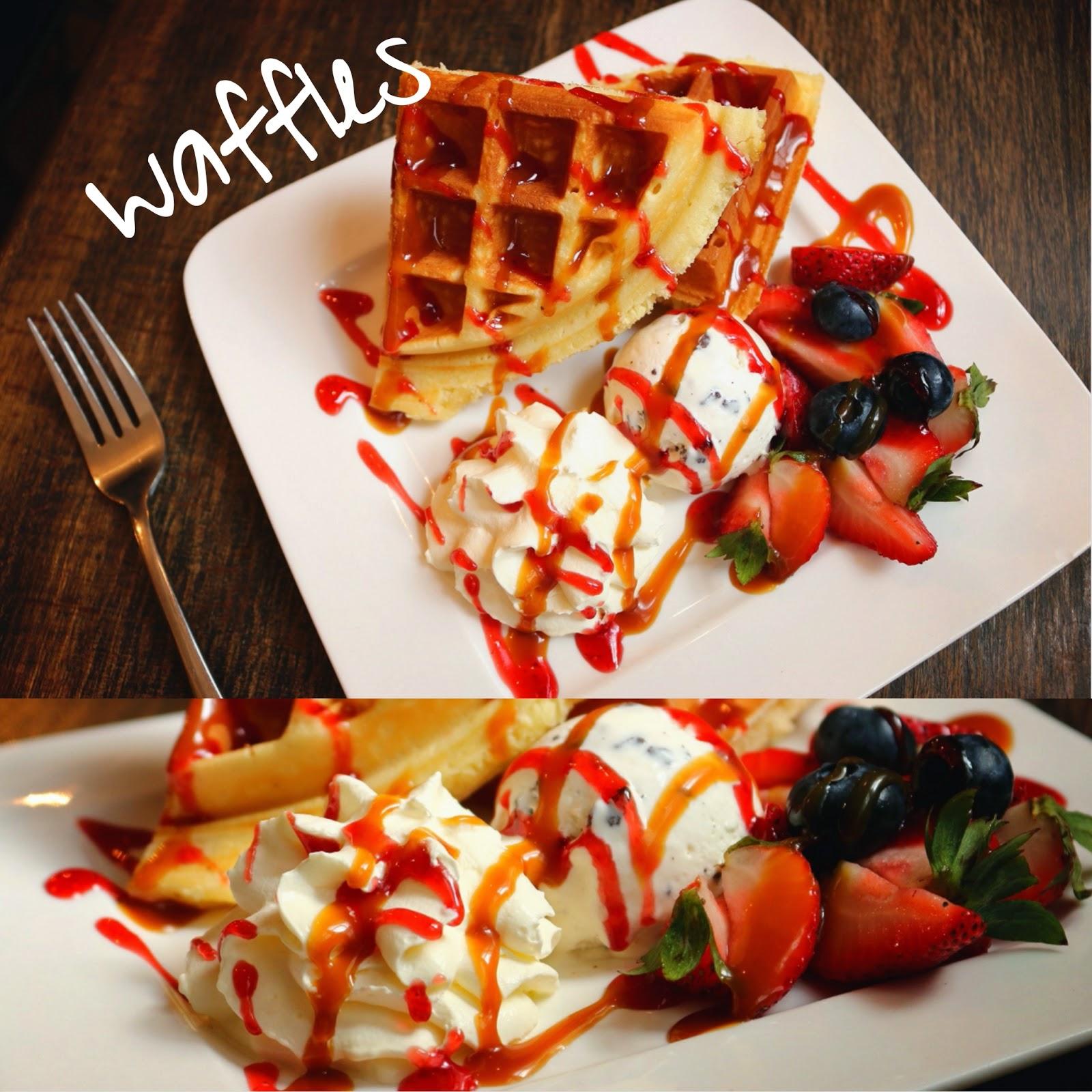 PND純粹分享。愛玩愛食。: Barista Caffe - 野莓窩夫配咖啡!