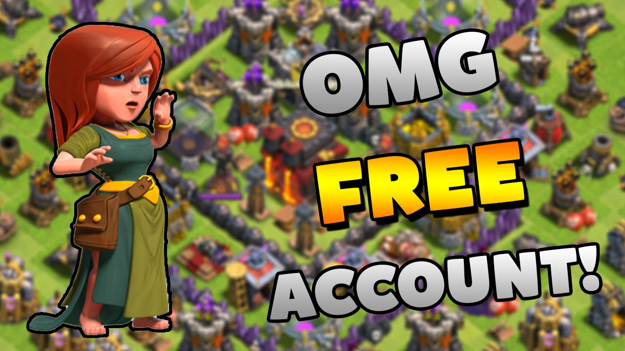 CLASH OF CLANS FREE ACCOUNTS