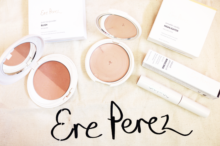 Green Beauty: Trying Out Ere Perez Makeup - Review & Swatches