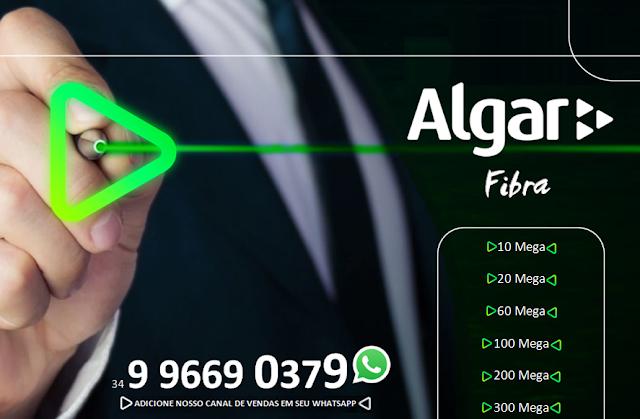 ALGAR FIBRA PLANOS DE INTERNET COM TELEFONIA FIXA