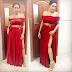 Juliet Ibrahim stuns in red