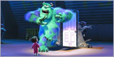 """Boo se cuela en la """"Monstruos, S.A."""""""