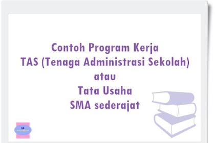 Contoh Program Kerja Tata Usaha SMA