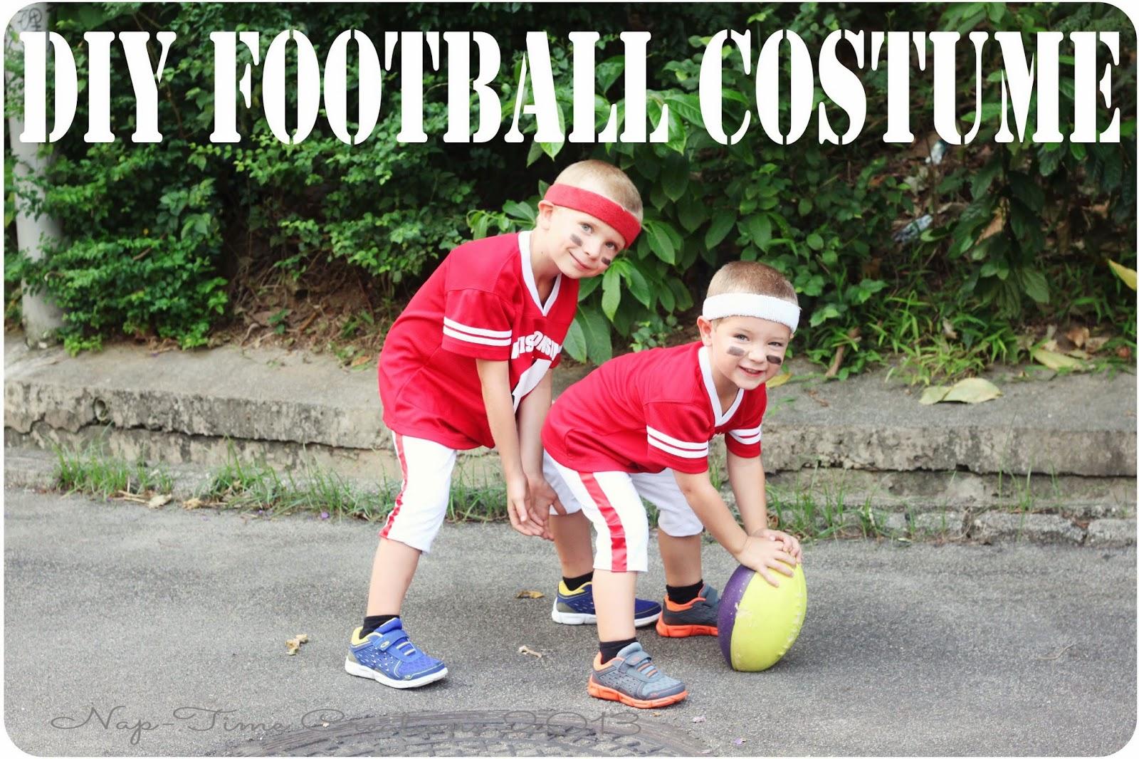 football player halloween costume