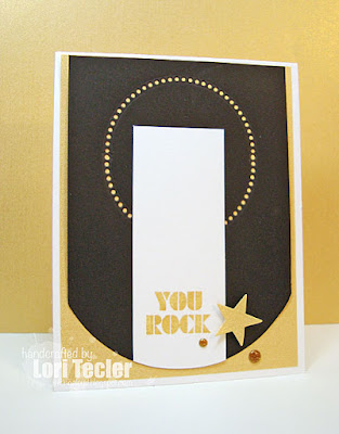 You Rock card-designed by Lori Tecler/Inking Aloud-stamps from My Favorite Things