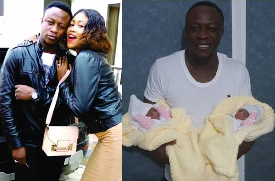 Congratulation!! Singer Chuddy K Welcomes A Set Of Twins With His Wife Rachael (Photo)