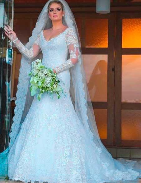 Thaíssa Naves vestido de noiva