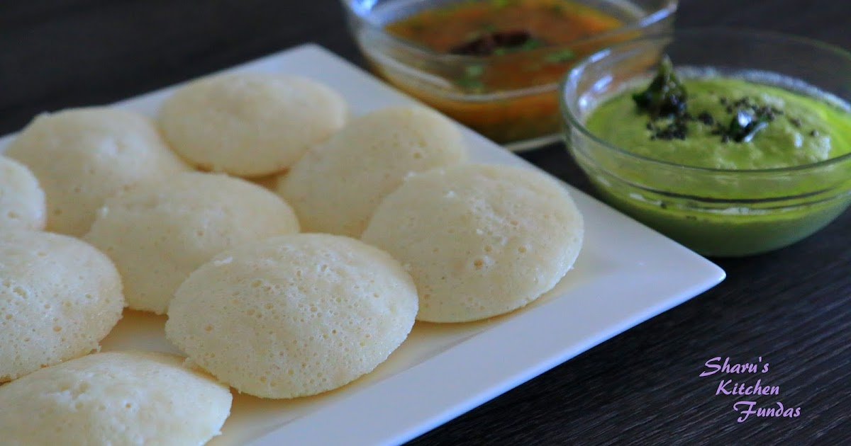Idli South Indian Food Using Mixture
