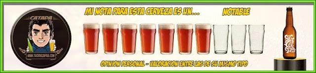 Cerveza BEERCELONA Valoración