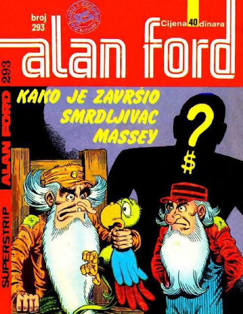 Kako je zavrsio smrdljivac Massey? - Alan Ford
