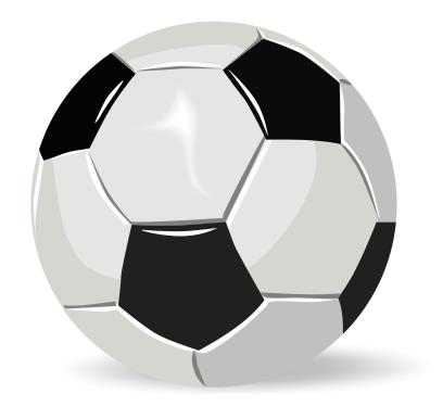 Trik sederhana membuat bolanya sepakbola  Belajar CorelDRAW