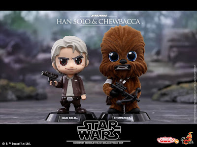 Star Wars: The Force Awakens Cosbaby Series 3 Vinyl Figures by Hot Toys