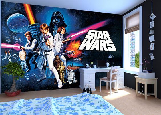 valokuvatapetti lapsia Star Wars lastenhuone tapetti lasten tapetti