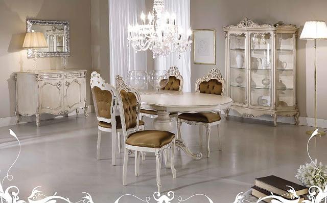 غرف معيشة إيطالية كلاسيك