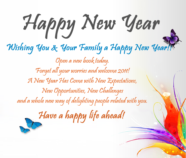 New year greeting cards best new year wishes m4hsunfo