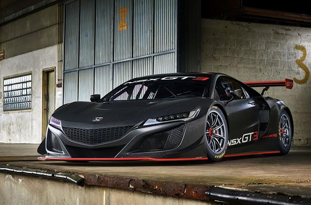 2017 Honda NSX GT3 - #Honda #NSX #GT3 #motorsport