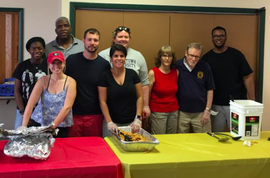 Hackensack Rotary feeds 100 in need at annual Christmas in July