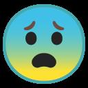 Fearful emoji