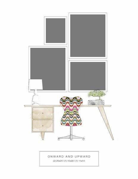 Como colocar y organizar los Cuadros en una Casa