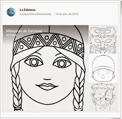 """""""Máscaras de carnaval 1"""""""