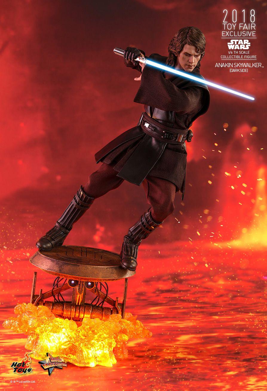 Hot Toys MMS486 Star Wars ANAKIN SKYWALKER Dark Side 1//6 Jedi robes in brown