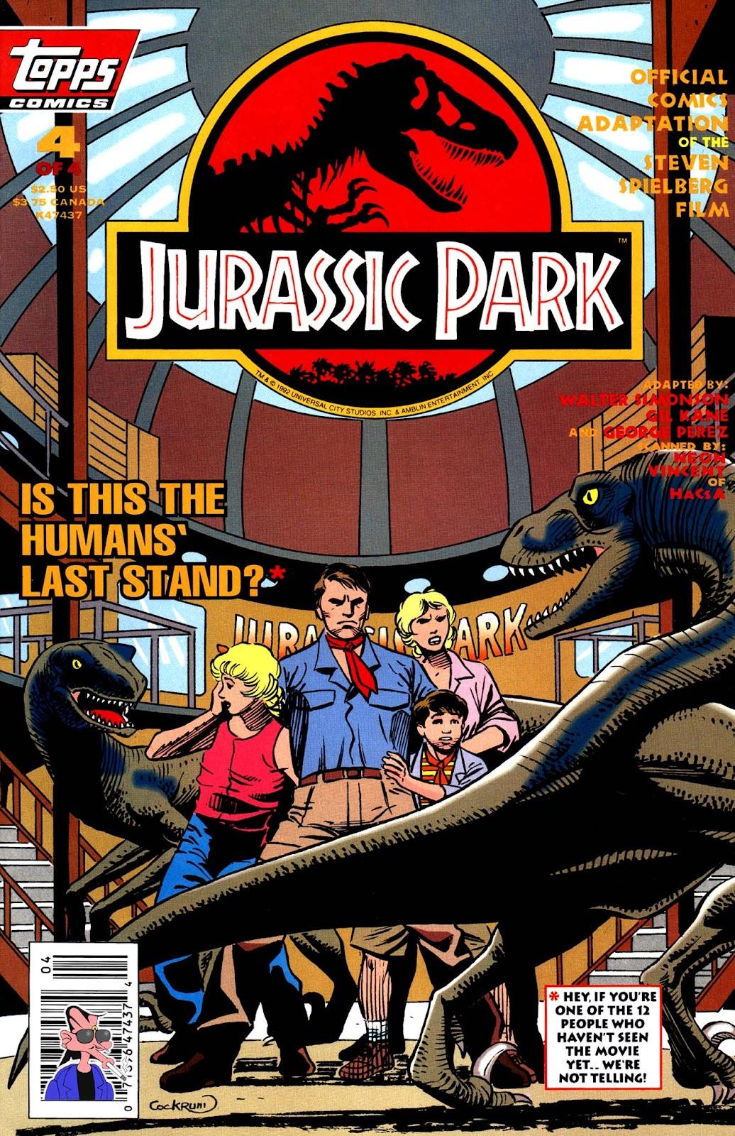Comic Jurassic Park 1993 Issue 5