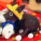 Burro, Donkey, Amigurumi