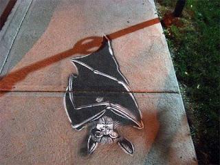 dibujo en la calle de Peter Gibson