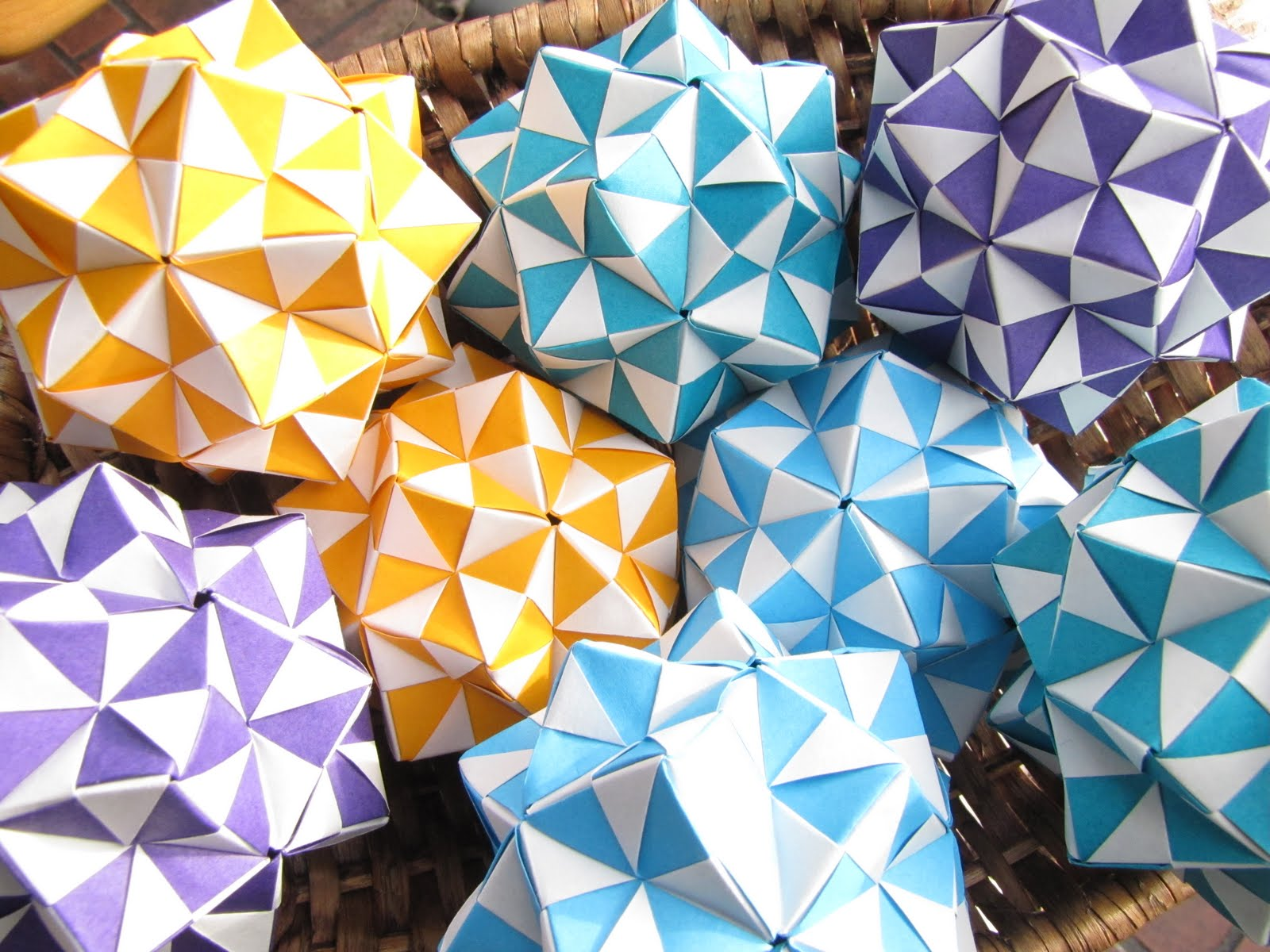 Origami Maniacs What Is Modular Origami