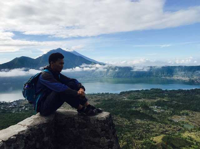 Backpacker to Batur Kintamani, Bali
